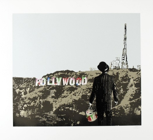 Nick Walker, 'The morning After - Hollywood', 2008, Print, Screenprint in colors on paper, DIGARD AUCTION
