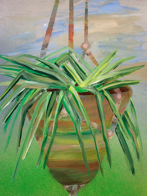 , 'Hanging Spider Plant,' 2017, HATHAWAY | Contemporary Gallery