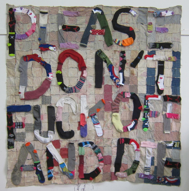 , 'PLEASE DON'T FUCK OFF AND DIE,' 2015, Gallery 16