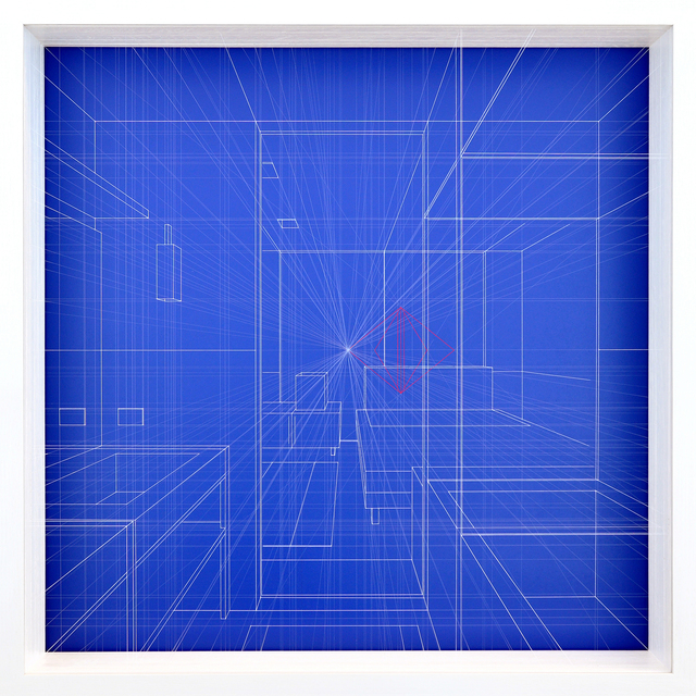 , 'Libration Ultramarine,' 2017, The Flat - Massimo Carasi