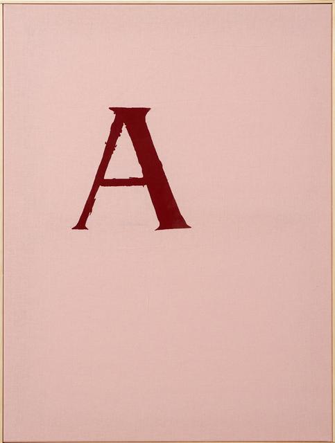 , 'Scarlet Letter,' 2014, Museum Dhondt-Dhaenens