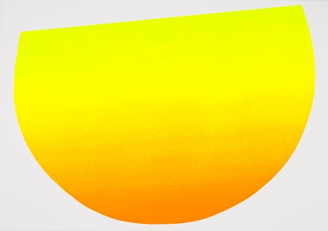 Rupprecht Geiger, 'Gelb zu Orange', 2007, Walter Storms Galerie