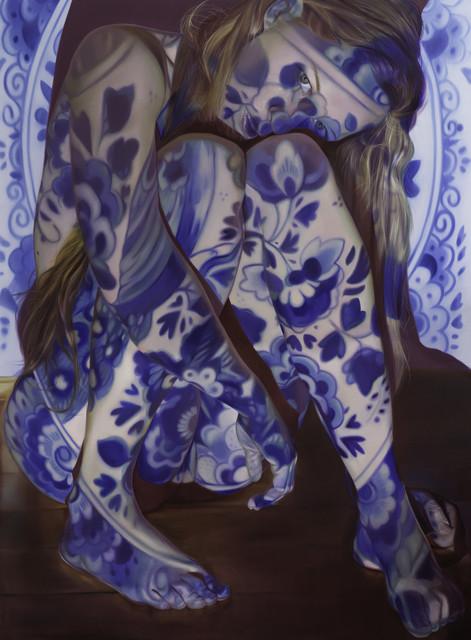 , 'I don't feel blue, I feel Delft blue,' 2017, Duran Mashaal