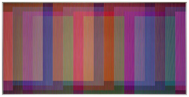 , 'Physichromie Panam 266,' 2017, Galería RGR