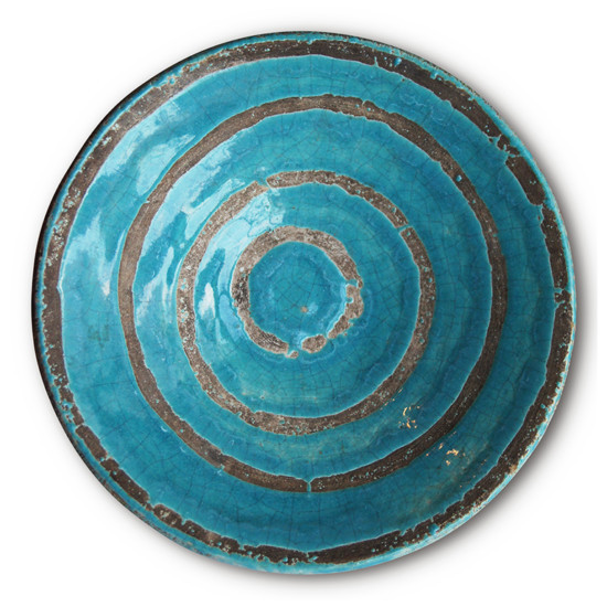 , 'Bowl with concentric circle design,' ca. 1950, Gallery BAC