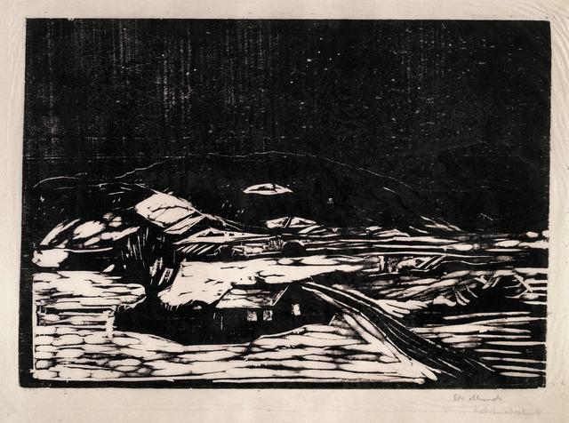 , 'Snølandskap (Winter Landscape),' 1898, Modernism Inc.