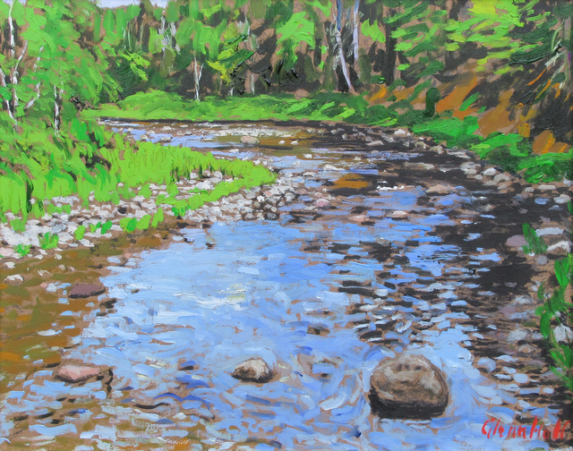 Glenn Hall, 'McGraw's Brook, Miramichi', 2018, Gallery 78