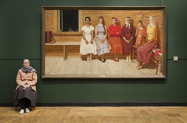 , 'Kugach's Before the Dance, State Tretyakov Museum,' 2009, Patricia Conde Galería