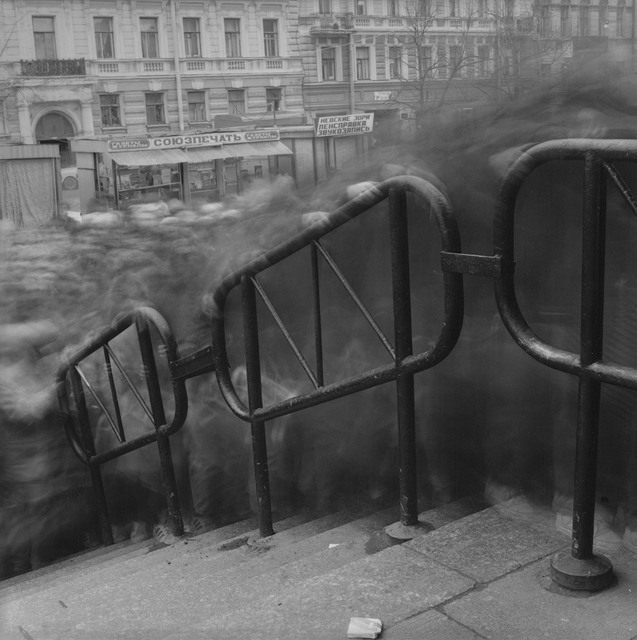 , 'Crowd 2, Vasileostrovskaya Metro Station, St. Peterburg,' 1993, Damiani
