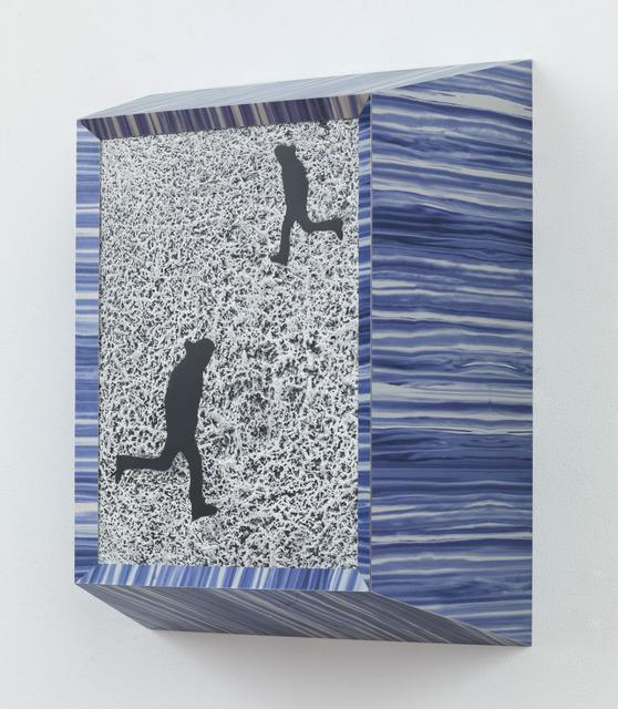 , 'Running Man (Double Black),' 2013, Gagosian Gallery