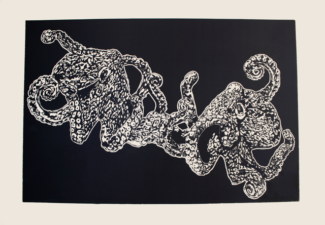 , 'Total Other (Octopus),' 2016, form & concept