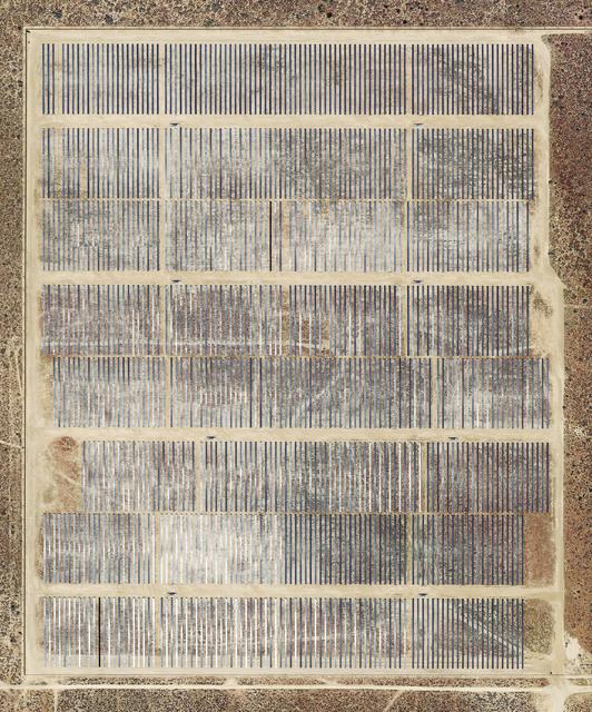 Mishka Henner, 'Garland Solar Power, Rosamond, California', 2018, Galleria Bianconi