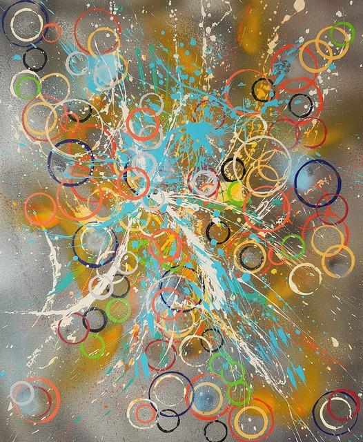 ISA-L, 'N°20.82 Oxygène', 2019, Galerie Libre Est L'Art
