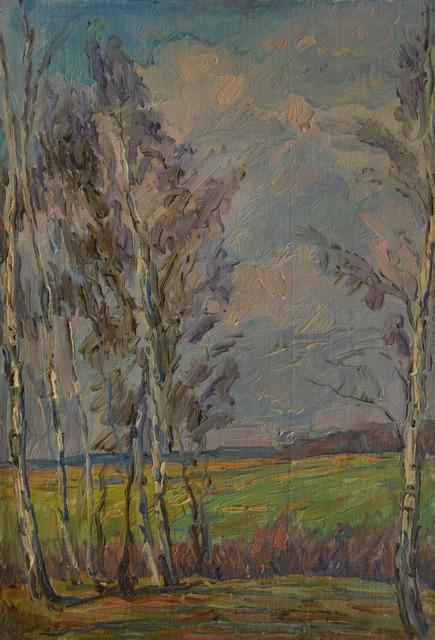Anton Stanislavovich Yastrzhembsky, 'Late afternoon', 1933, Surikov Foundation