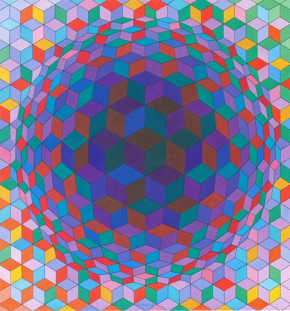 Victor Vasarely, 'Cheyt-E', 1970, Galerie Thomas