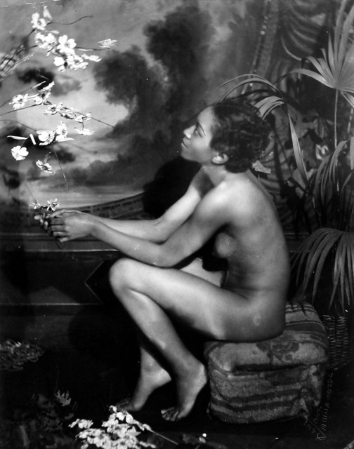 , 'Nude with Butterfly,' 1936, Howard Greenberg Gallery
