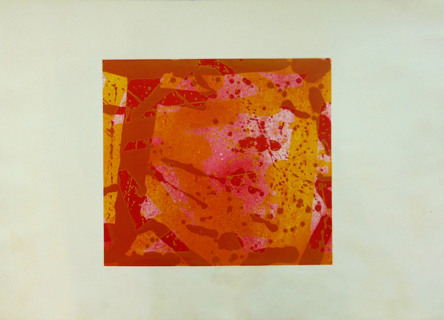 , ' Red Coral,' 1973, Gilden's Art Gallery