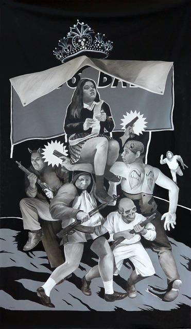 , 'Miss Balas,' 2013, Luis De Jesus Los Angeles