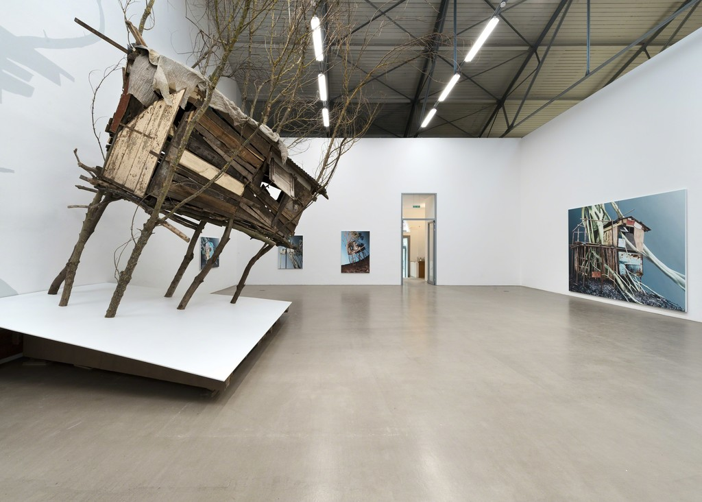 Installation view, 2016, Galerie EIGEN + ART Leipzig, Photo: Uwe Walter, Berlin