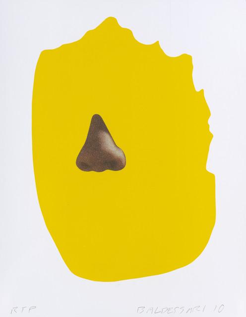 , 'Nose/Silhouette: Yellow,' 2010, Gemini G.E.L. at Joni Moisant Weyl