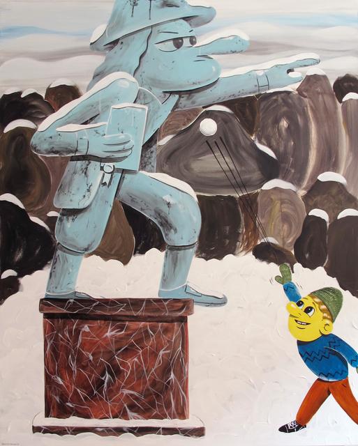 HuskMitNavn, 'Snowball', 2012, ALICE Gallery