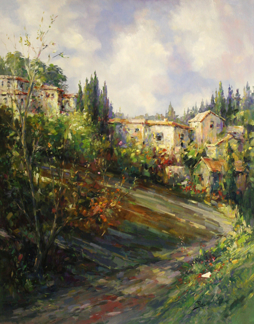 , 'Tuscane Hills,' , The Loft Fine Art