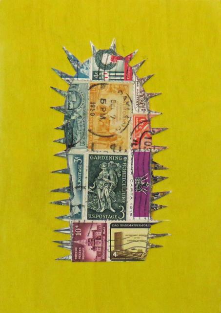 , 'Stamp Cactus Mixed,' 2017, Joshua Tree Art Gallery