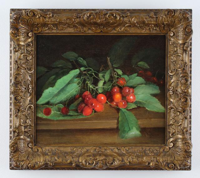 Charles Ethan Porter, 'Cherries', ca. 1885, Alexandre Gallery