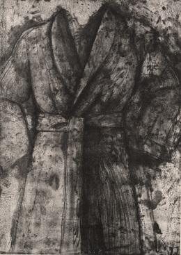 Jim Dine, 'Black and White Robe', 1977, Dallas Museum of Art