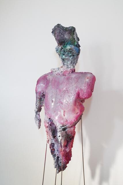 Sebastiano Sofia, 'Davide', 2019, Sculpture, Resin, iron, paint, polyurethane, Palazzo Monti