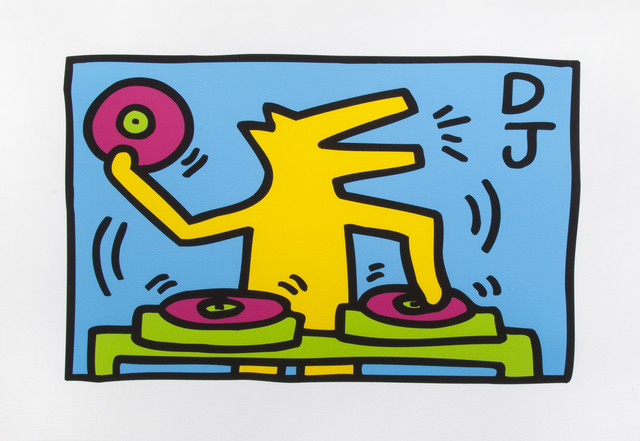 Keith Haring, 'DJ', 2015, Julien's Auctions