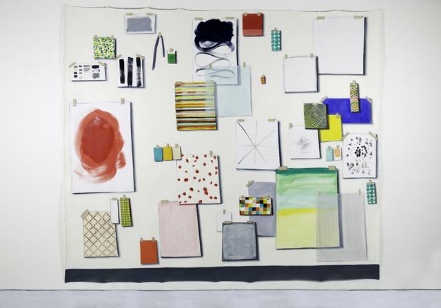 Lisa Milroy, 'Samples', 2017, Parasol unit foundation for contemporary art
