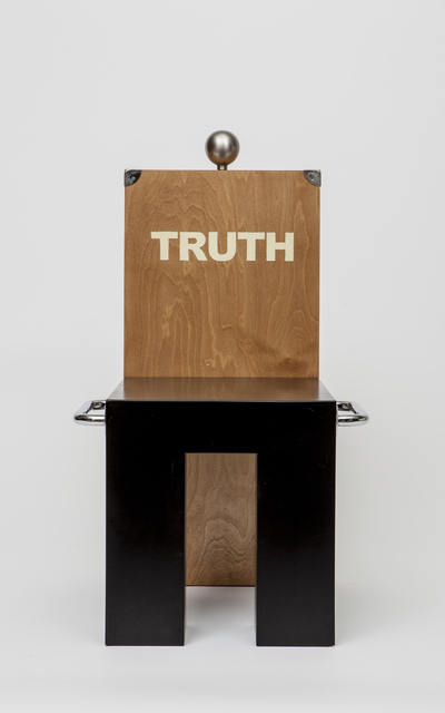 , 'Truth chair,' 1987, Magen H Gallery