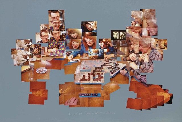David Hockney, 'The Scrabble Game', 1983, Christie's
