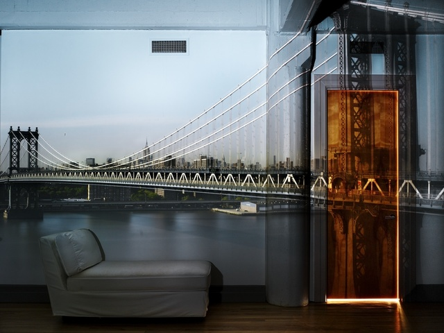 , 'Camera Obscura: View of the Manhattan Bridge, April 30th, Afternoon,' 2010, Edwynn Houk Gallery
