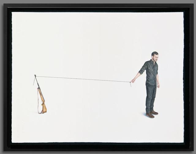 , 'Dibujos sobre lo invisible II,' 2014, Galería Alfredo Ginocchio