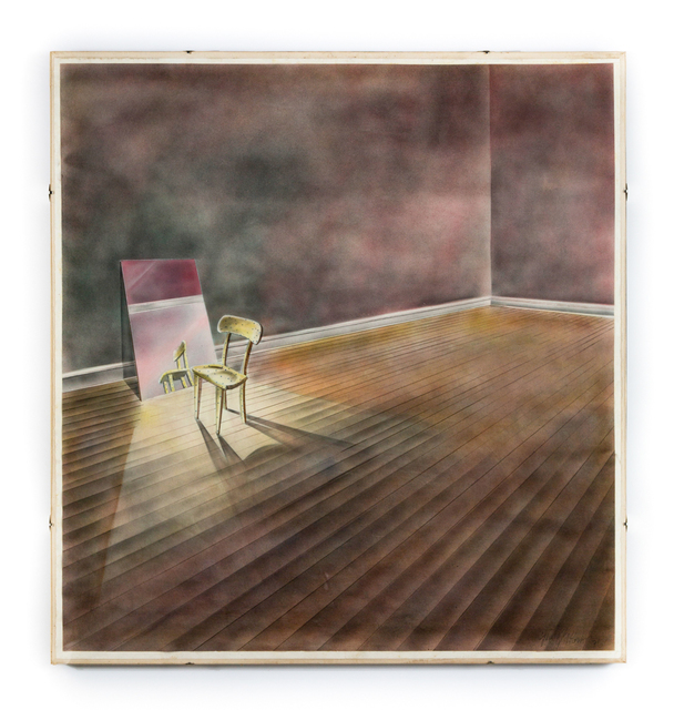 , ' I.A. Young- Chair with Mirror,' 1972, the harts gallery