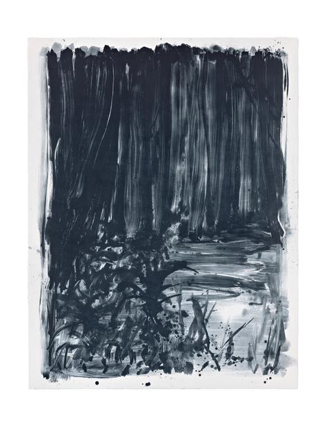 Shinro Ohtake, 'Indigo Forest 8', 2015, STPI