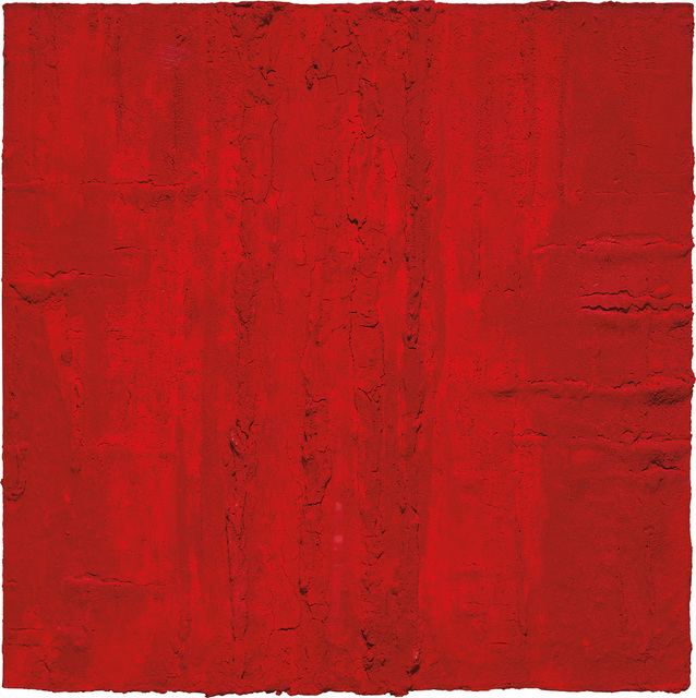 Marcello Lo Giudice, 'Rouge/Red', 2012, Painting, Oil pigment on canvas, Phillips
