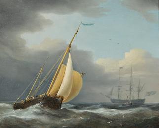 Coastal Shipping in Rough Seas