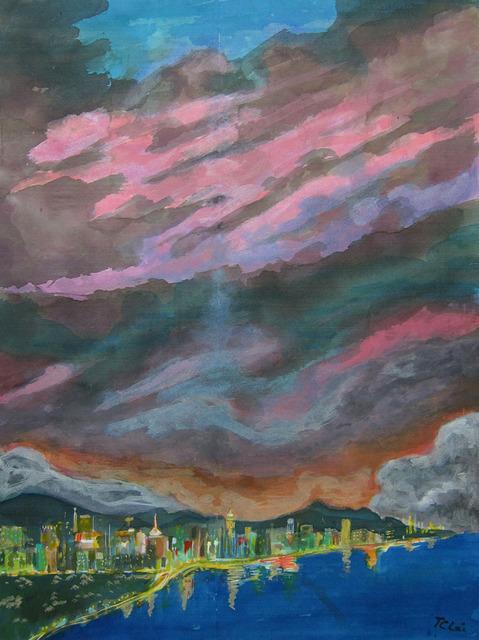 , 'Evening in Hong Kong,' ca. 2001, Alisan Fine Arts