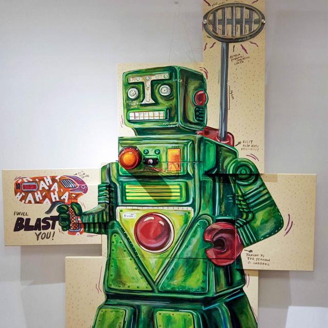 Naufal Abshar, 'Robot Gedek', 2018, Art Porters