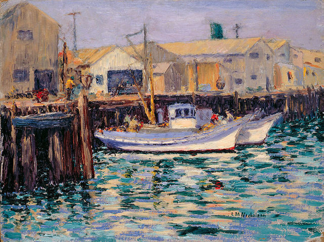 , 'Fishing Boats: Fisherman's Wharf, Monterey, California,' ca.1923-1933, White House Historical Association