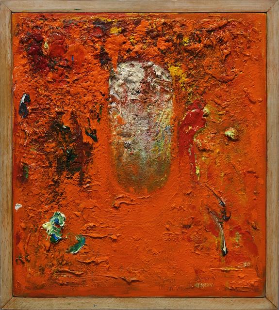 , 'Untitled (orange painting),' 1986, George Lawson Gallery