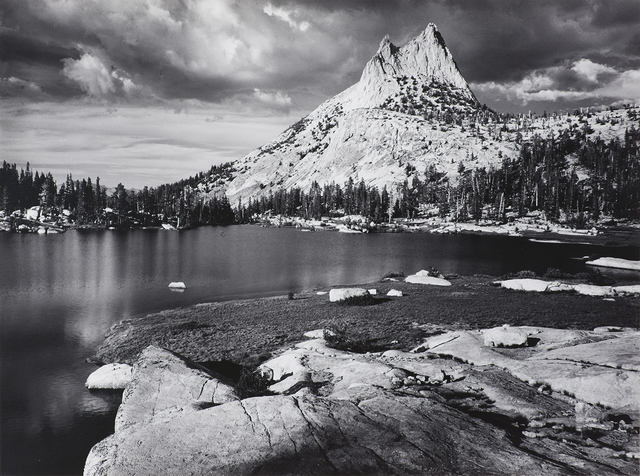 Ansel Adams, 'Cathedral Peak and Lake, Yosemite National Park', 1938, The Ansel Adams Gallery