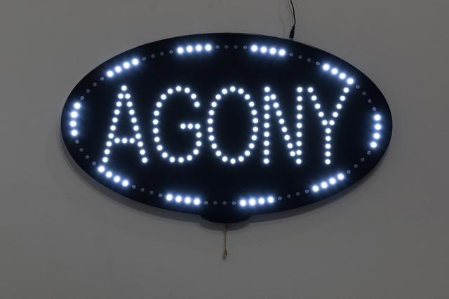 , 'Agony,' 2018, Upfor