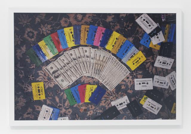 , 'Rainbow cassettes,' 2010, The Hole