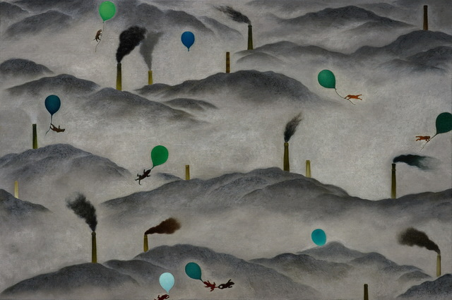 , 'Among the Mountains,' 2010, Taipei Fine Arts Museum