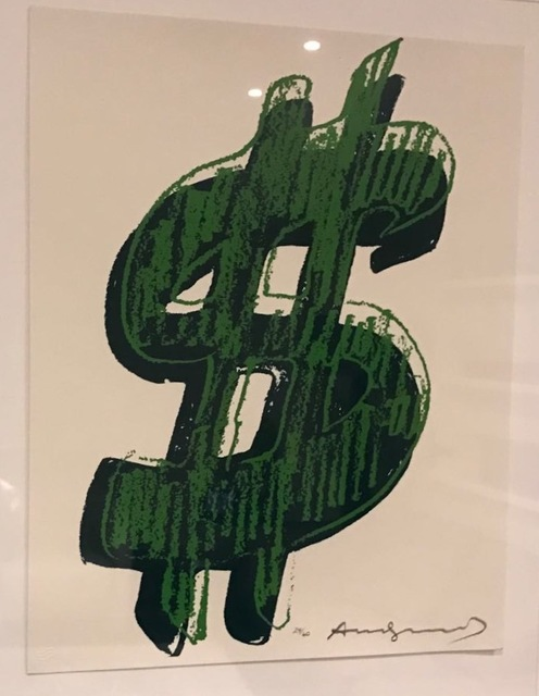 Andy Warhol, '$ (1)', Coskun Fine Art