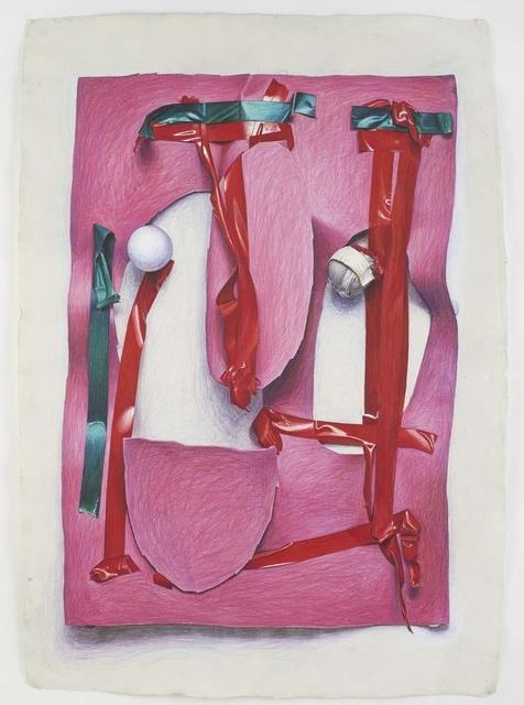 , 'Pink Cut-Out,' 2015, David Nolan Gallery
